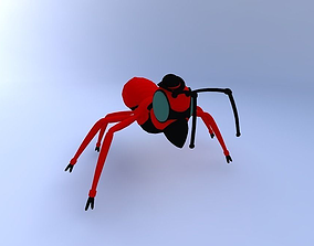 Ant Caricature 3D model