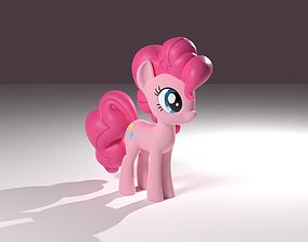 Pinkie Pie Figurine 3D printable model