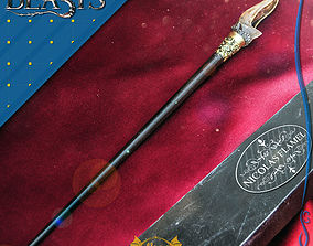 NICOLAS FLAMEL WAND - FANTASTIC BEASTS 3D print model