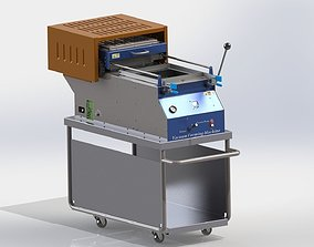 mold 3D model Vacuum Forming Machine