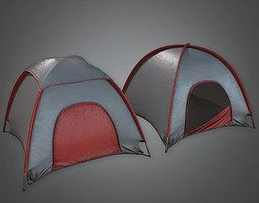 3D asset CAM - Tent 02 - PBR Game Ready