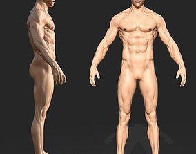 rigged Rigged Male Muscular GAME READY 3d model