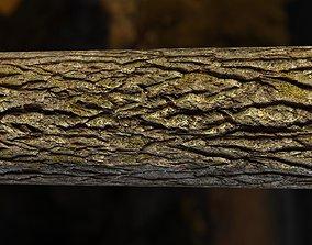 Tiling Tree Bark Textures in 4k 3D model