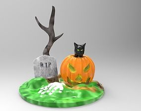 3D printable model Halloween Set