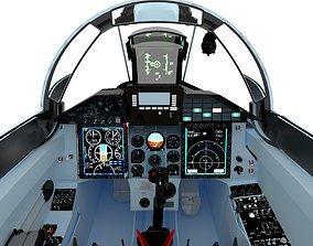 MiG-29SMT Cockpit 3D asset