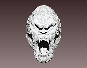 3D printable model Angry chief boss monkey bust