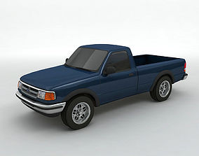 3D 1995 Ford Ranger Pickup