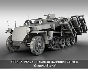 SD KFZ 251 1 - Ausf C - Ground Stuka 3D