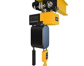 Crane Hoist Stahl ST50 3D