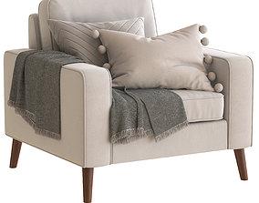 Cult Furniture Madison Armchair 3D