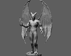 Demon 3D printable model