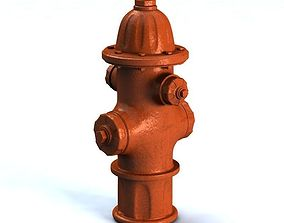 urban Fire Hydrant 3D model