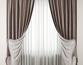Curtain 105 drape 3D