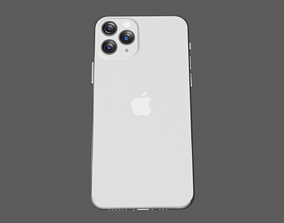 3D New and revised Iphone 11 pro max