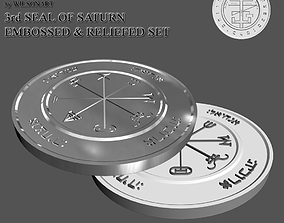 3rd Seal of Saturn 3D print model