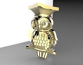 Owl - Wisdom Symbol 3D print model