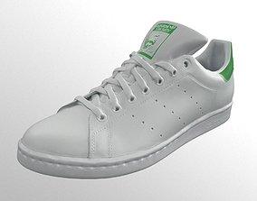 3D asset Adidas Originals Stan Smith sneaker