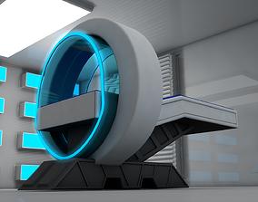 3D model Sci Fi Medical Scanner