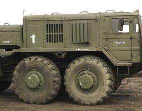 3D model rims for MAZ 537 USSR Soviet tractor