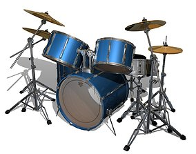 3D Drum Kit cymbals