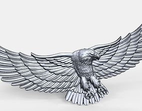 Eagle bas relief 3D printable model