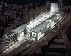 Imperial Commercial Complex 3D