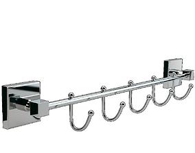 Bay Hook Hanger Quinary 3D model