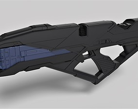 Vengeance Rifle from the movie Star 3D printable model 3