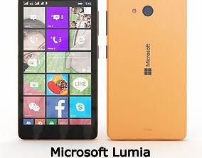 3D Microsoft Lumia 540 Dual SIM Pink
