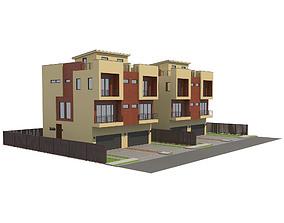 3D Modern House 10