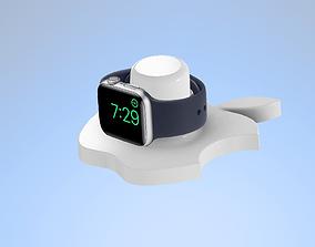 Apple Watch holder 3D print model applewatchholder