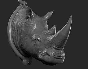 3D printable model Rhinoceros Head