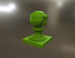 3D printable model Stone Ball on pillar