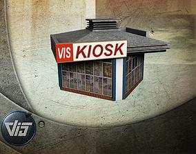 3D asset game-ready Kiosk