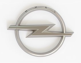 Opel Logo detailed 3D model