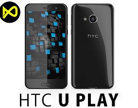 3D model HTC U Play Black