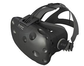 HTC vive 3D model headset