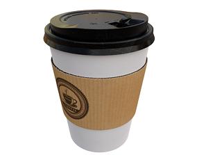 caffeine 3D model coffee cup
