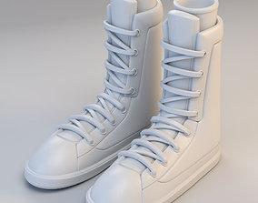 3D model Cartoon Boots scifi