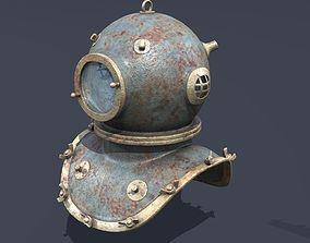3D model XIX Century diving helmet hobby