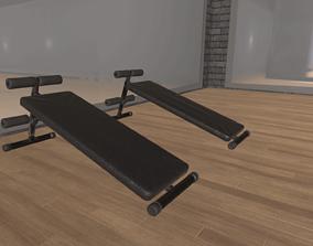 3D model Bench Press fitness