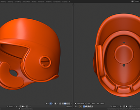 Batting helmet 3D printable model