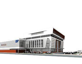 Office Building 3D model commercial