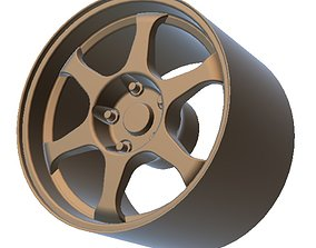 SSR Wheels for scale 18 - 3D Printable