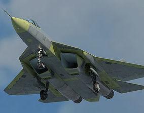 Russian Air Force Sukhoi T-50 PAK FA prototype version 3D