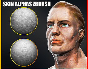 Skin Alphas for ZBrush 3D