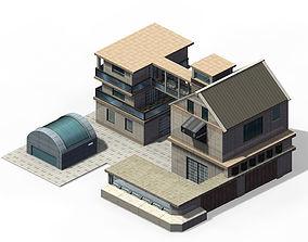 Future world - factory 3D model