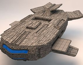 The Space Mothership 3D model