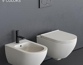3D model Ceramica Cielo Enjoy Wall-Hung WC