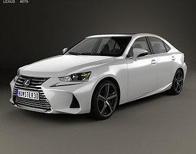 Lexus IS XE30 350 2016 3D